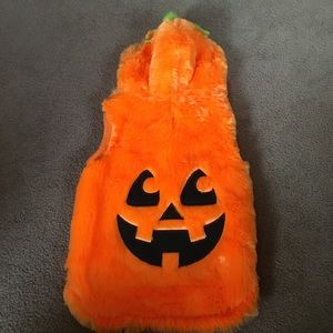 NWOT Pup Crew Pumpkin Costume Size Medium
